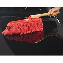 California Car Duster-Wood Handle